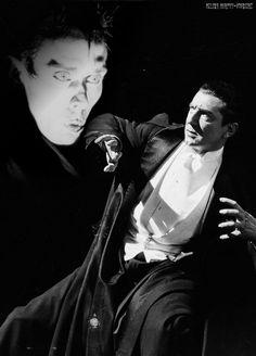 。・:*:・゚ Bela Lugosi is afraid of Peter Murphy 。・:*:・゚ 。・:*:・゚ Artwork by Milena Murphy-Sośnierz 。・:*:・゚