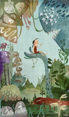 The Art Of Animation, Belle Lee - Dreaminglatte
