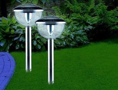 Outdoor Lights LED solar roestvrijstalen tuinlamp