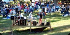 Fun Outdoor Concert at Landry Vineyards in West Monroe, Louisiana