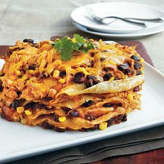 Chicken Enchilada Stack | CookingLight.com