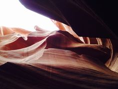 Brightness and darkness in the Antelope canyon