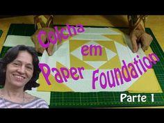 Colcha em Paper Foundation Parte I - YouTube