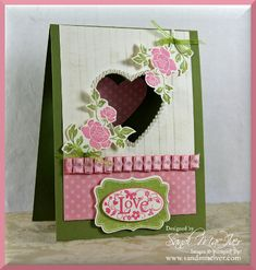 You are Loved & Ribbon Sneak Peak! by SandiMac - Cards and Paper Crafts at Splitcoaststampers