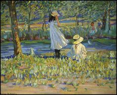 Watching the Boat (Helen Galloway McNicoll)