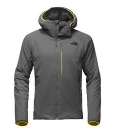 Tackle the challenges of rapid elevation gain and loss with this new, lightly insulated hoodie that features our state-of-the-art Ventrix™ ventilation for balanced warmth and breathability. Perforations in key areas are designed to expand and dump heat or contract and retain as you move, so you won't overheat or sweat out.