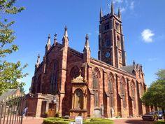 Beautiful old Church Bothwell Scotland.