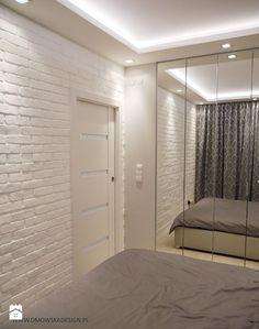 Biała cegła w sypialni - zdjęcie od BJM Bricks