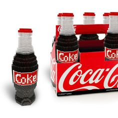 LEGO Coke bottle 6 pack! | By David Haliski | #CocaCola