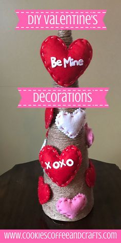 Decorate your home for Valentines Day on the cheap with these simple easy DIY ideas to make your home full of love. Go to the Dollar Store and start creating. #Valentines #DollarTree #HomeDecor #ValentinesDecor