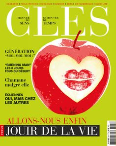 Cover for Clés Magazine. Isabel Espanol illustrations http://www.isabelespanol.com/
