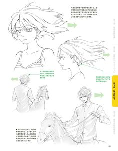 121 Drawing Hair Tutorial, Manga Drawing Tutorials, Manga Tutorial, Drawing Techniques, Art Tutorials, Manga Hair, Anime Hair, Hair Reference, Drawing Reference Poses