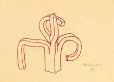 Peine del Viento's drawing by Eduardo Chillida. #eduardochillida #chillida #peinedelviento #combofthewind #comb #wind #sea #coast #rocks #sansebastian #donostia #basque #artist #artisan #craft #craftsmanship #sculpture #drawing #minimalist #metalart #metalsculpture #designprocess #manufacturingprocess #industrialdesign #art #design Abstract Words, Design Process, Metal Art, Neon Signs, Drawings, Rocks, Coast, Artisan, Minimalist