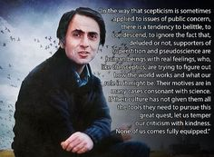 A gentle genius. Love you forever, Dr. Sagan.