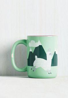 Alpaca a Punch Mug | Mod Retro Vintage Kitchen | ModCloth.com