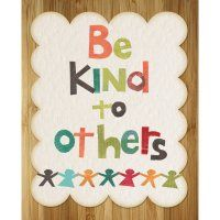 Be Kind to Others print by Rebecca Peragine of Children Inspire Design