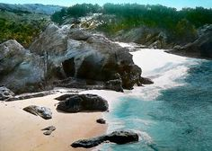 Magestic Hidden Beach in Bermuda.Pin provided by Elbow Beach Cycles http://www.elbowbeachcycles.com