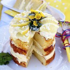 Ricotta and Lemon Cake With Mascarp