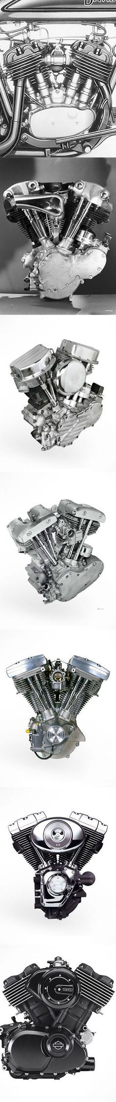 Check out the history of the Harley-Davidson engine. | Harley-Davidosn #DarkCustom
