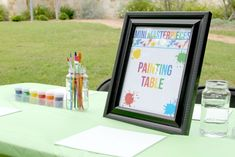 Art Birthday Party - The sTORIbook Blog