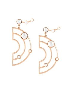 Shop Eshvi 'Astro' earrings in Eshvi from the world's best independent boutiques at farfetch.com. Shop 400 boutiques at one address.