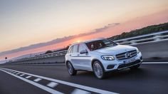 I5 Mercedes-Benz GLC on track front 3/4