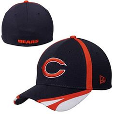 Get this Chicago Bears Navy Training Camp Flex Fit Cap at ChicagoTeamStore.com