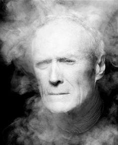 Clint Eastwood photographed by Inez van Lamsweerde. S)