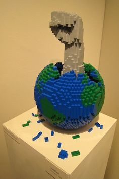 """Created by artist Nathan Sawaya for his exhibit """"Art of the Brick"""" in 2008 #LegoCreations"""
