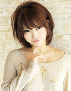 Terrific 1000 Images About Hairstyles On Pinterest Bangs Japanese Hairstyle Inspiration Daily Dogsangcom