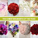 Your big day bloom search officially stops here. We've scoured the internet to bring you the 12 best bridal bouquets of the year. From lush flowers to eye-catching accessories, you're not going to be able to take your eyes off of these fabulous floral arrangements.