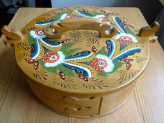 Old Swedish food container