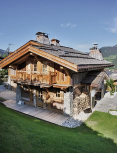 "reminds me of ''Our Chalet"" in Switzerland"