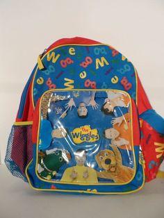 The Wiggles Children's Backpack W/ Original Cast!  #Wiggles
