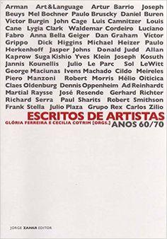 Escritos De Artistas - 9788571109391 - Livros na Amazon Brasil