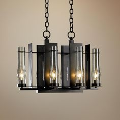 Hubbardton Forge New Town 6-Light Chandelier -