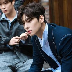 Eunwoo astro ( ˘ ³˘)❤ Korean Men, Asian Men, Asian Actors, Korean Actors, Kpop, Cha Eunwoo Astro, Lee Dong Min, Sanha, Ulzzang Boy