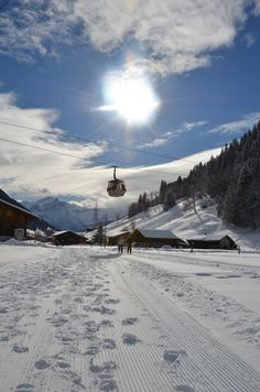 Another glory day in Gstaad