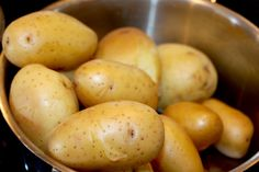 image Food And Drink, Potatoes, Baking, Vegetables, Image, Potato, Bakken, Vegetable Recipes, Backen