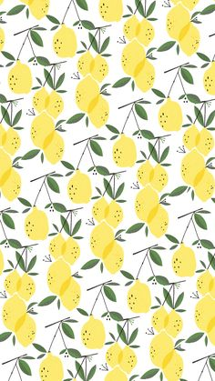 A cute summer wallpaper. When life gives you lemons. Iphone Background Wallpaper, Aesthetic Iphone Wallpaper, Aesthetic Wallpapers, Summer Wallpaper, Pastel Wallpaper, Fabric Wallpaper, Cute Wallpaper Backgrounds, Pretty Wallpapers, Phone Backgrounds