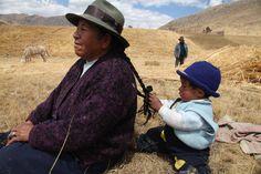 A farming community in Peru.