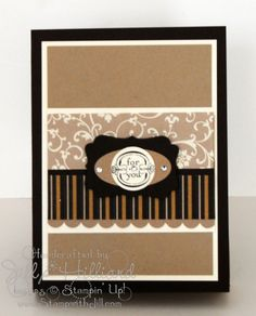 Ladies I LOVE, LOVE, LOVE, this little box. I make so many cards and I am always excited to find a cute way to package them. So love th...