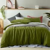 Found+it+at+Temple+&+Webster+-+Mossy+Green+Holts+Linen+Quilt+Cover+Set
