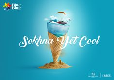 Blue Blue Sokhna summer campaign on Behance