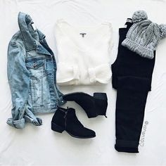 fashion, clothes, and outfit image Teen Fashion Outfits, Girl Fashion, Womens Fashion, Fashion Clothes, Style Clothes, Style Fashion, Cute Casual Outfits, Stylish Outfits, Jugend Mode Outfits