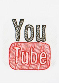 Icône Youtube HD⎪Vector illustrator (ai.)   keerthankasula ...