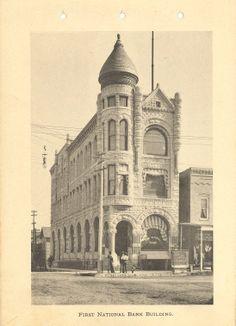 First National Bank Of Carthage Mo Circa 1906