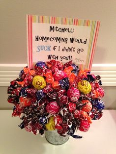 A cute way to answer to homecoming :)