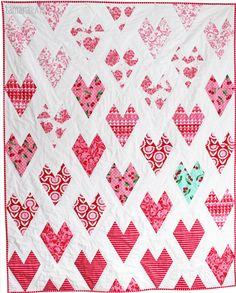 Lots of Love quilt free patterns iincluded from Michael Miller