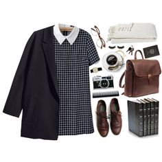 Nerd by cnline on Polyvore featuring H&M, Rolex, Boohoo, GHD, Crate and Barrel and Smythson